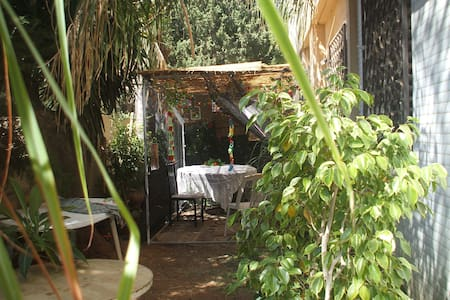 Garden flat in central Netanya - Apartemen