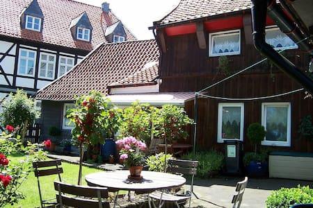 Goslar Stadt ruhige Lage, Garten, bis 10 Personen - Haus