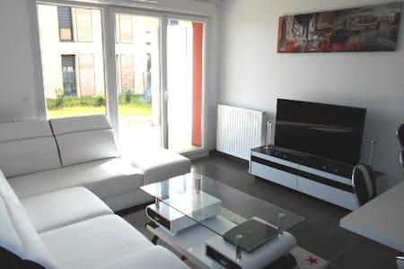2 pièces avec jardin tout confort  - Appartement