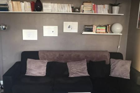 Chambre à 15 min de Paris-centre - Appartement