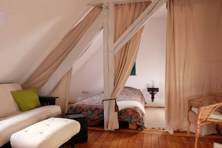 Dreamlike guest-room with atmospher