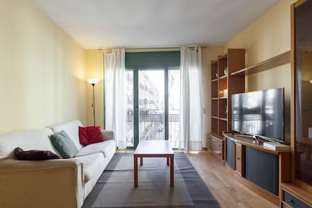 Double Bed with private bathroom - Barcelona - Apartment