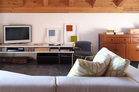 modern design attic - Apartment
