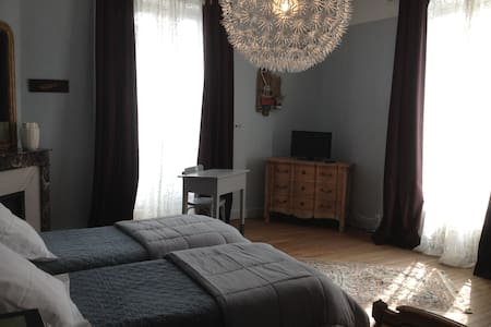Chambre twin - Josselin - Bed & Breakfast