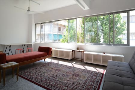 Artist loft with roof access & Akropolis view - Athina - Loft