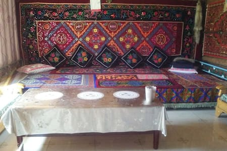 白哈巴的家哈萨克房 - Altay - Cabanya