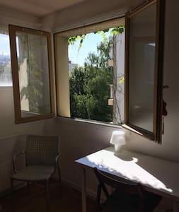 Chambre Butte aux Cailles 2 - Paris-13E-Arrondissement - Hus