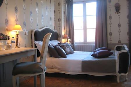 Hôtel de Guerpel - Chambre Grise - Exmes - Dům pro hosty