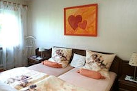 Komfortables Doppel-Zimmer - Rodgau - Bed & Breakfast