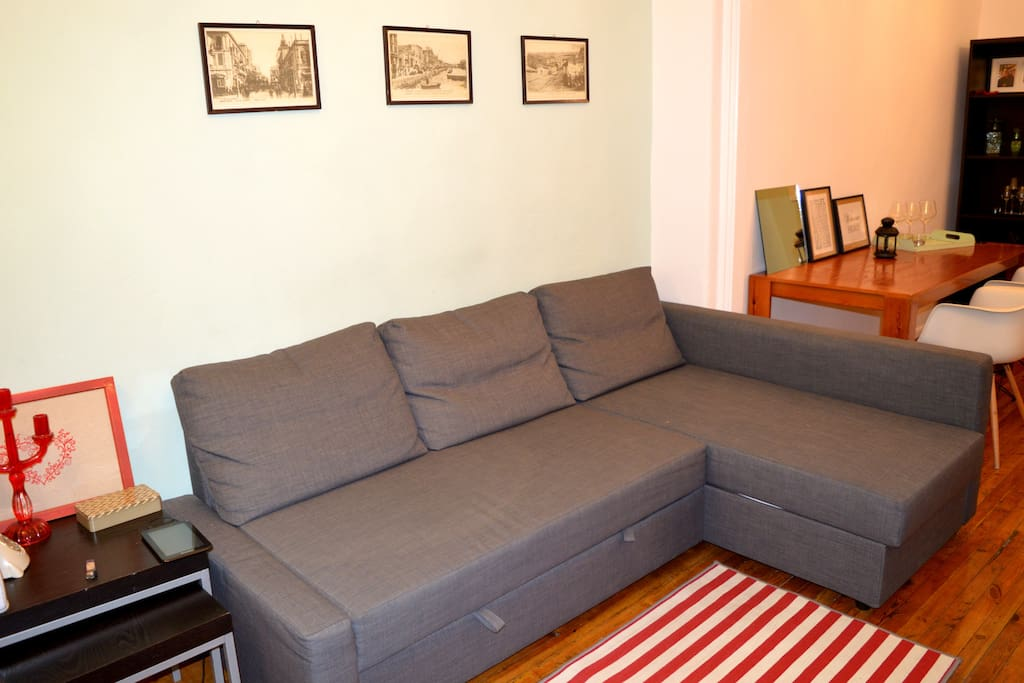 City center, flat for 4, Wifi
