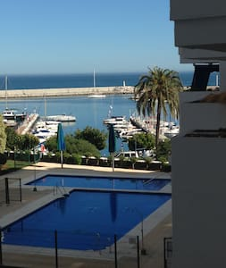 Apartment directly in Port Estepona with Seeview - Apartment