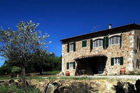Podere Santa Caterina: avete casa in Val d'Orcia! - Bagno Vignoni - Villa
