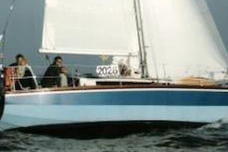 Zeilboot Waarschip Hout 9.00 - Hajó
