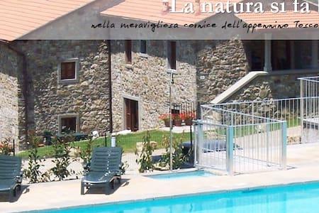 Appartamento Bilocale con piscina - Firenzuola - Lejlighed