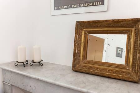 Studio-boudoir in our townhouse - Nimes - House