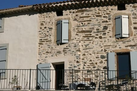 Village house in southern France - Saint-Nazaire-de-Ladarez