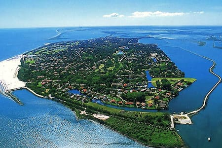 Isola privata di Albarella - House