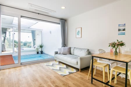 Homely & neat B&B with private pool - Hawon-dong, Seogwipo-si - Casa