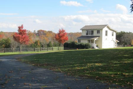 The Woodhaven Farm Carriage House - Scottsville - Ház