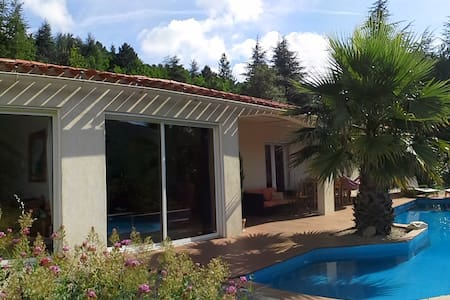 GARDELOUP with pool and great view - Olargues - House