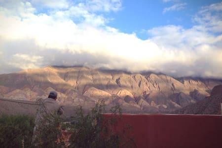 Casa con hermosa vista de Tilcara - Casa