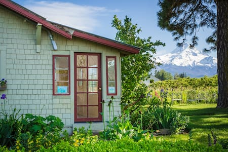 Amazing mountain views from yard  - Huis