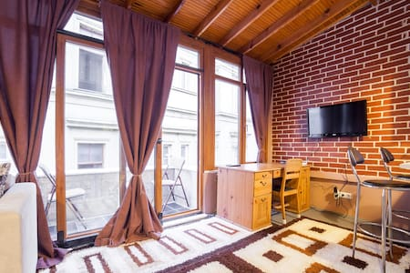 Duplex Flat & Balcony Istiklal Strt - Apartment