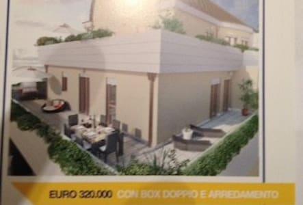 App 99mq +70 terrazz 4° piano e box - Wohnung