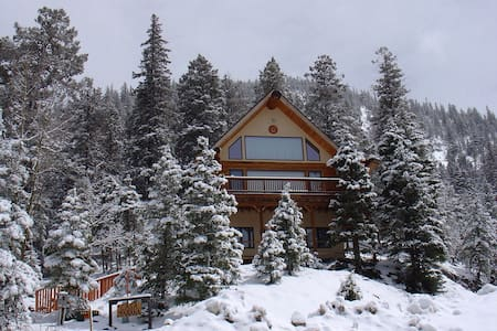 Beautiful Taos Ski Valley Log Home
