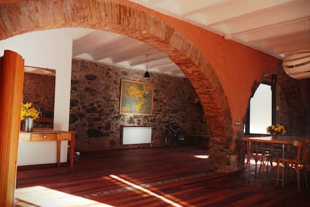 Chic rustic stone house - Vilamaniscle