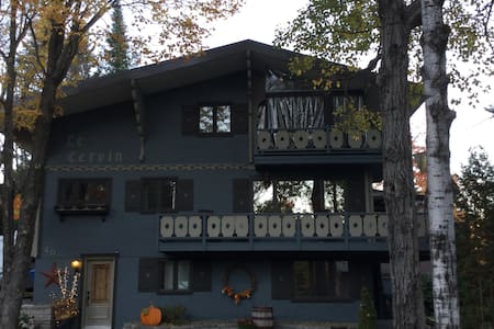 """Loft """"Le Cervin"""" Maison en montagne - Podkroví"""