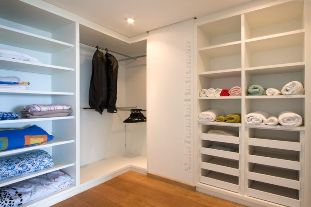 and walk in closets