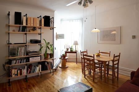 Charming apartment Plateau/Mile-End