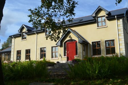 Our B&B is tucked away in the foothills of the Ox Mountains in South Sligo, Ireland.   Our location is ideal for hillwalking, fishing or cycling. Find out more about is on www.moyriver.com