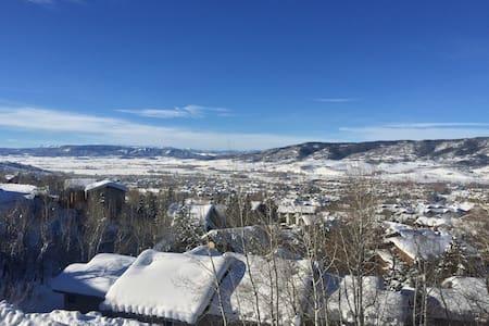 Mountain Oasis w/ Incredible Views! - Steamboat Springs