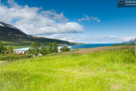 Paradise north of Akureyri (SV-room