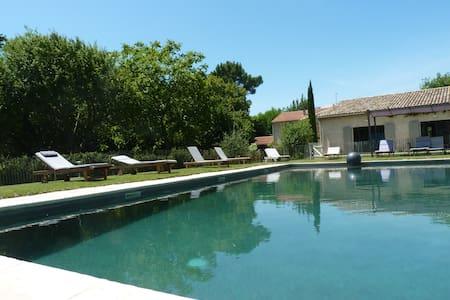 Ferme rénovée avec grande piscine - Haus
