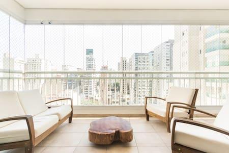 Double Room in Luxury Bldg @ Frei Caneca. - San Paolo - Appartamento