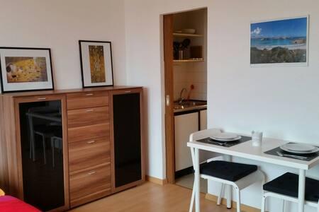 1 Zimmer Appartement nahe Rhein - Lägenhet