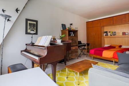 Lovely spacious flat center Paris - Departamento
