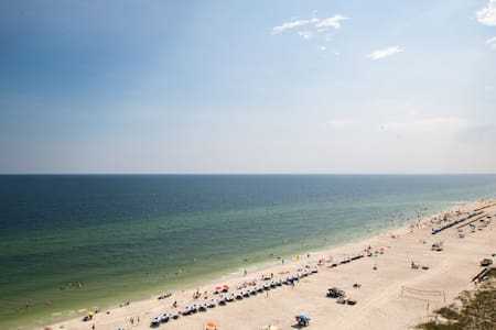 East corner gulf front 2 bed orange beach condo - Орандж-Бич - Кондоминиум