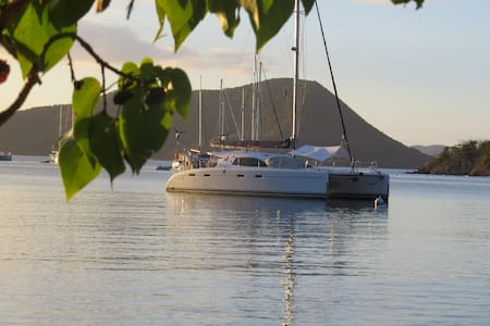 Private catamaran:Usvi and Bvi luxury experience - East End - Barca