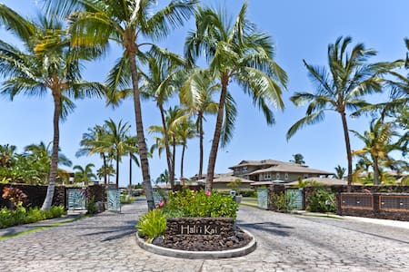 Spacious Floor Plan at Private Hali'i Kai 24F - Waikoloa Village - Lejlighedskompleks