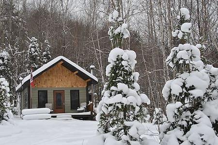 Le Calumet, rustic off-grid cabin - Dağ Evi