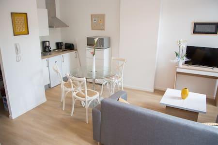 appartement lumineux centre ville 3pers(1 etage - Albi - Apartament