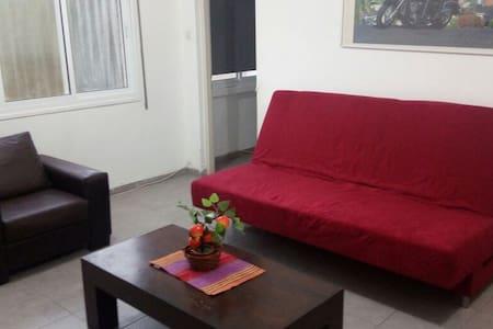 AGAS HOLIDAY APARTMENT KRIYAT SHMONA - Qiryat Shemona - Apartment