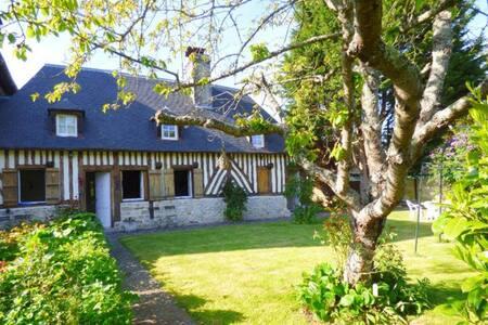 Authentique maison normande 1km mer - Villers-sur-Mer