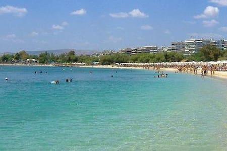 Superhost Beach Penthouse Apt near Athens - Alimos - Flat
