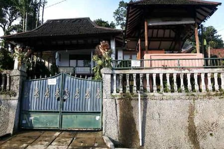 Mountain view house 2BR, Nice View - Cisarua - Haus