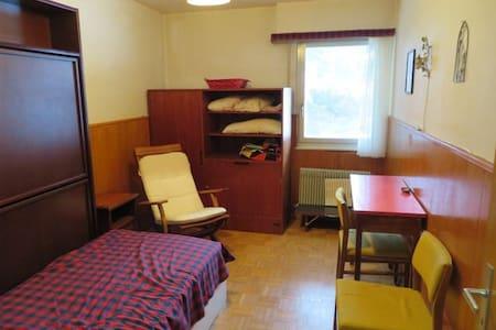 Crans Montana Chambre de Bonne - Casa